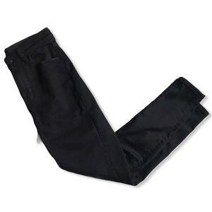 AEO Next Level Stretch Black Skinny Jeans - 2Short